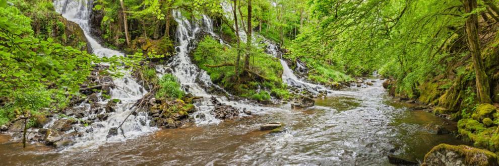 Cascades sur la diege mestes