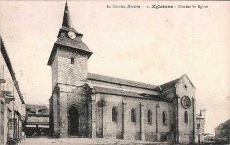 Egletons clocher et eglise