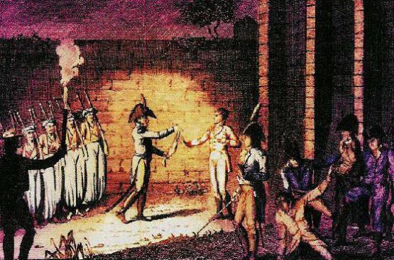 Execution du duc d enghien 1804 03 22