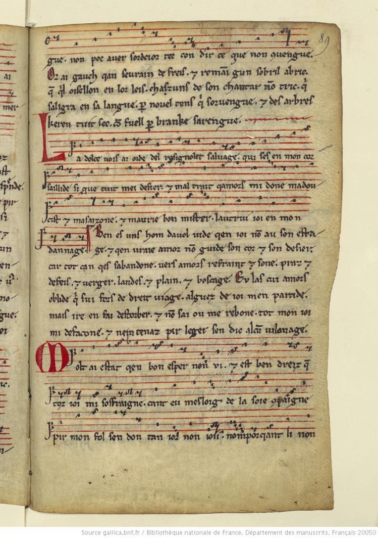Folio 89r bnf fr 20050 bdev