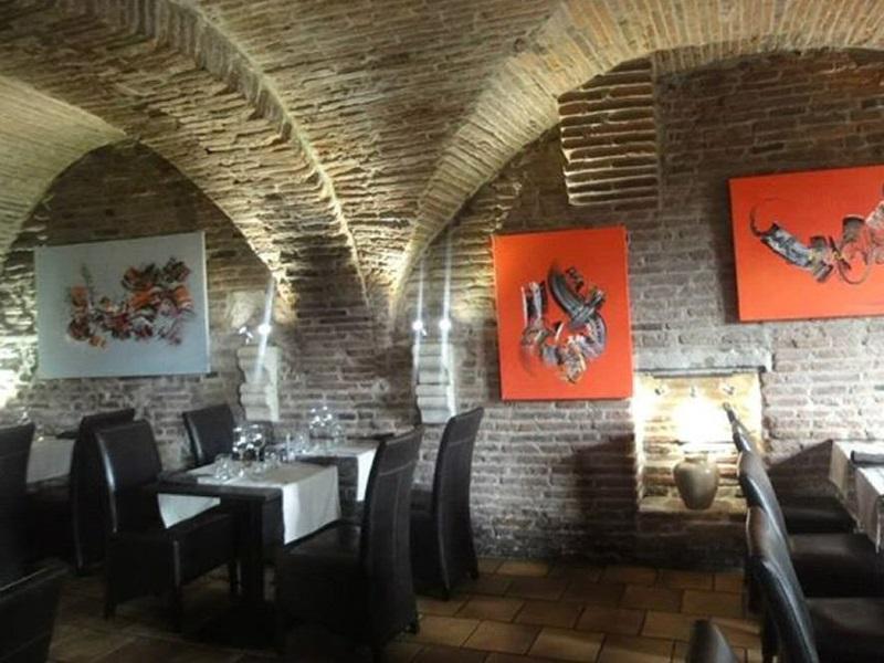 Interieur restaurant le ventadour