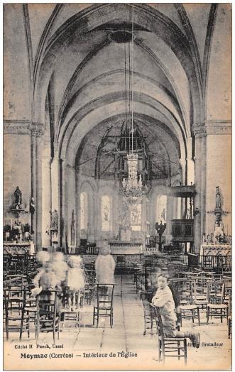 Meymac interieur eglise