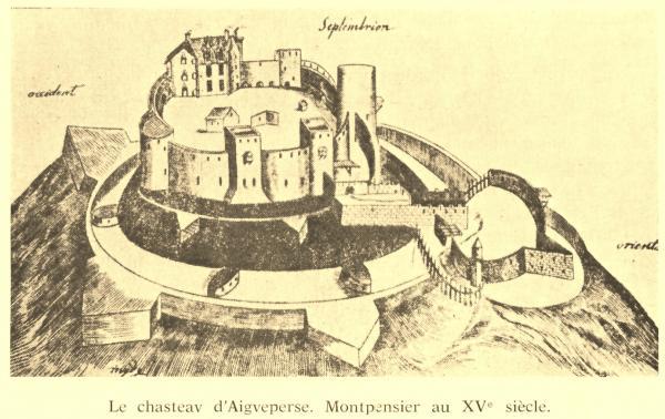 Montpensier gravure