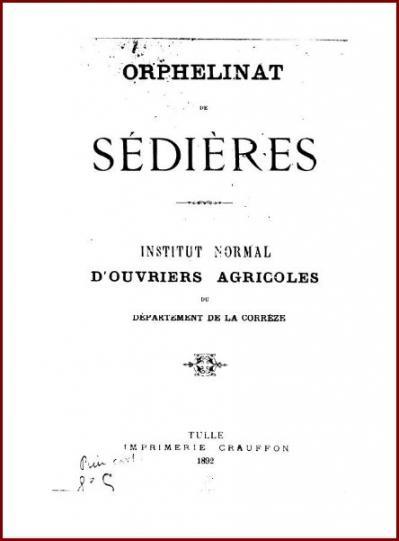 Sedieres livret 1892