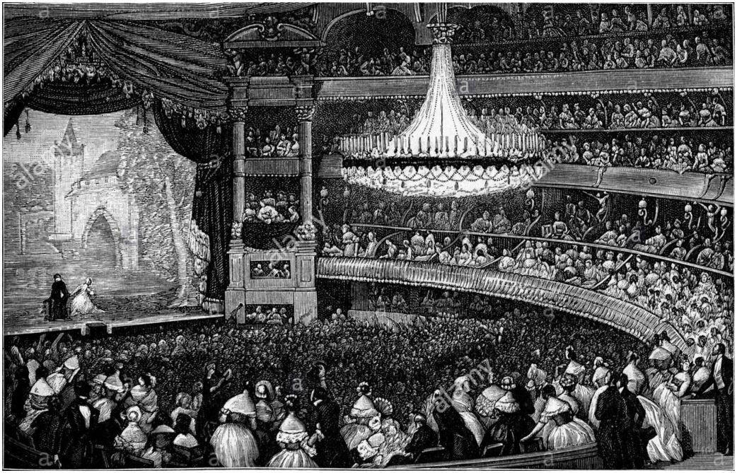 Ventadour salle en 1843
